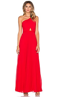 BCBGMAXAZRIA Qwendelyn Dress in Rouge Red
