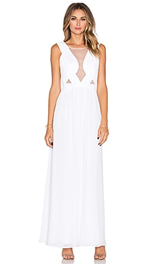 BCBGMAXAZRIA Gabrielle Dress in White