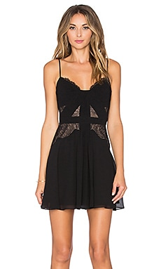 Katalina Shift Dress in Black