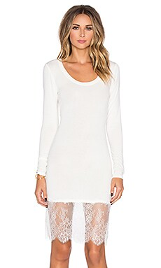 BCBGMAXAZRIA Livi Mini Dress in Off White