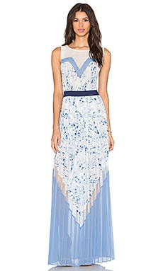 BCBGMAXAZRIA Katherine Dress in Haze Combo