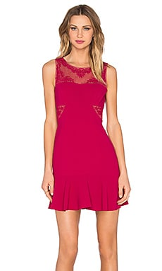 Enida Dress in Turkish Rose