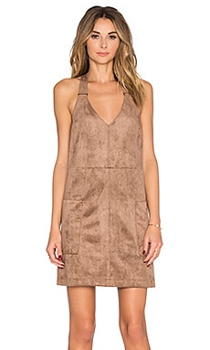 Shift Dress in Light Mocha