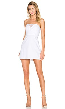 BCBGMAXAZRIA Madelaine Dress in White