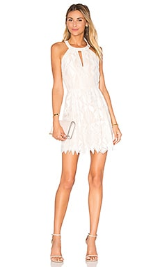 Megyn Dress en Blanc