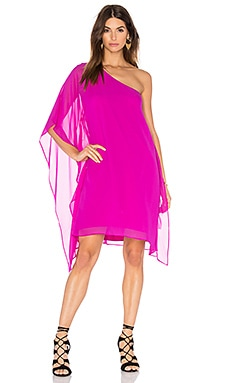Alana Shift Dress in Magenta