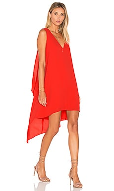 Shana Dress in Red Berry