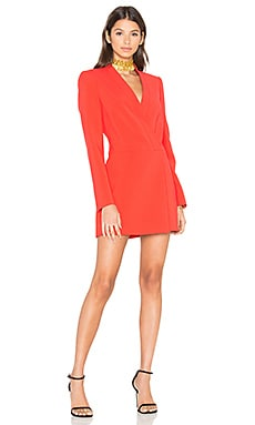 Waleska Dress in Bright Poppy