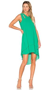 Kristi Dress in Light Kelly Green