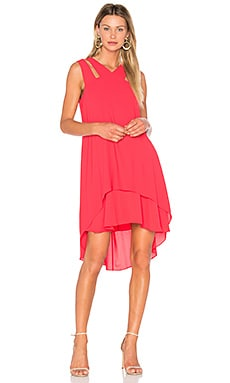 Kristi Dress in Red Berry
