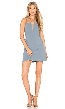 Linzee Dress in Light Blue Haze