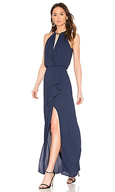 Amanda Gown in Navy