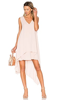 Kaira Dress in Bare Pink