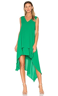 Kaira Dress in Malachite