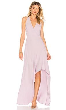 Obree Halter Dress In Lavender
