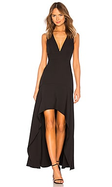 Plunging Hi Low Gown BCBGMAXAZRIA $348