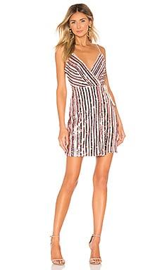 Multi Color Sequin Dress BCBGMAXAZRIA $298