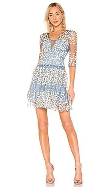 Embroidered Cocktail Dress BCBGMAXAZRIA $398