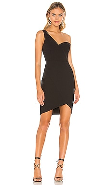 Eve One Shoulder Dress BCBGMAXAZRIA $248