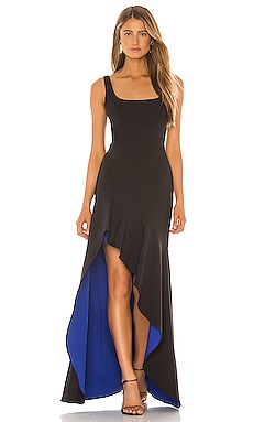 Colorblock Gown BCBGMAXAZRIA $348 NEW ARRIVAL