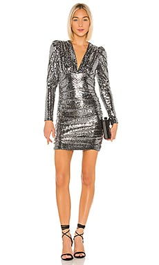 Ruched Mini Dress BCBGMAXAZRIA $248 NEW ARRIVAL
