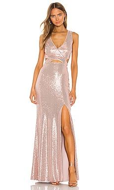 Cut Out Gown BCBGMAXAZRIA $338 BEST SELLER