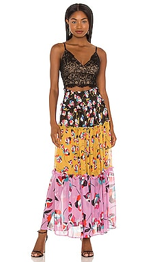 Cut Out Maxi Dress BCBGMAXAZRIA $298