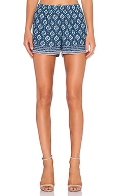 BCBGMAXAZRIA Isaac Short in Dark Ink Combo