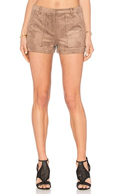 BCBGMAXAZRIA Sergio Short in Light Mocha