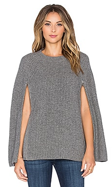 BCBGMAXAZRIA Sherwin Sweater in Heather Grey