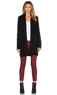 BCBGMAXAZRIA Katriney Cardigan in Black Combo