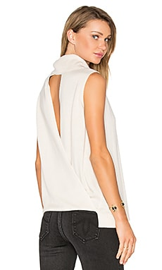 Sleeveless Sweater in Off White