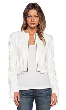 BCBGMAXAZRIA Farrell Jacket in Off White