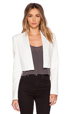 BCBGMAXAZRIA Emmerson Jacket in Off White