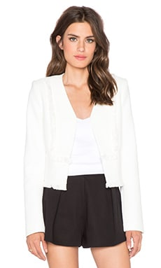 BCBGMAXAZRIA Henre Jacket in Off White