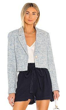 Tweed Crop Blazer BCBGMAXAZRIA $348