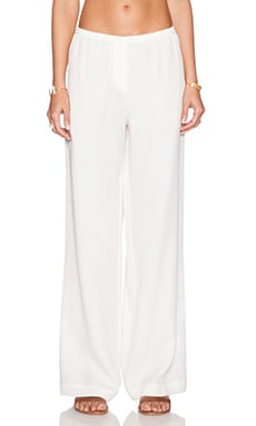 BCBGMAXAZRIA Nalan Pant in Off White