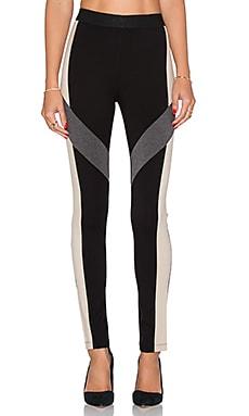 BCBGMAXAZRIA Shawny Colorblocke Legging in Black Combo
