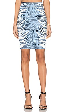 BCBGMAXAZRIA Pavel Skirt in Haze Combo