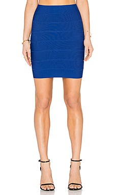 BCBGMAXAZRIA Simone Skirt in Royal Blue