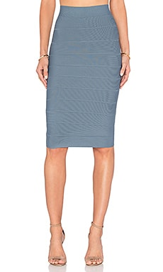 BCBGMAXAZRIA Leger Skirt in Light Ash