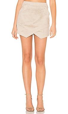 BCBGMAXAZRIA Beckett Skirt in Pumice