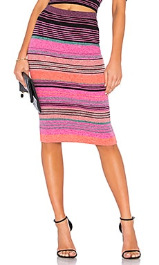 Striped Knit Pencil Skirt BCBGMAXAZRIA $168 BEST SELLER