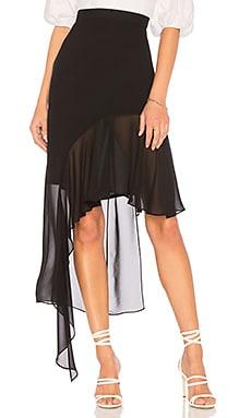 Asymmetrical Ruffle Skirt BCBGMAXAZRIA $87