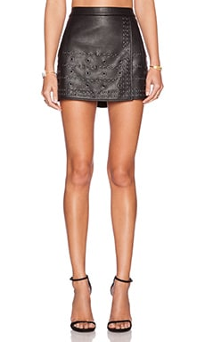 BCBGMAXAZRIA Remi Skirt in Black
