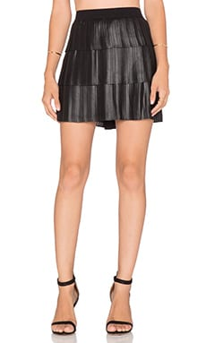 BCBGMAXAZRIA Zana Skirt in Black