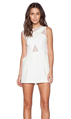 Linn Romper in Off White