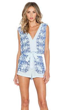 Vance Romper in Light Oasis Combo