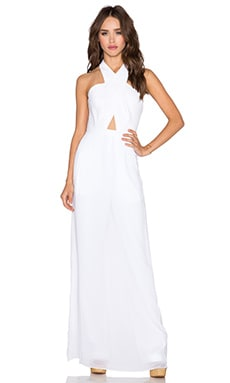 BCBGMAXAZRIA Josselyn Jumpsuit in White