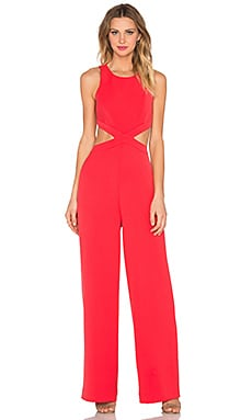 Emjay Jumpsuit en Red Berry